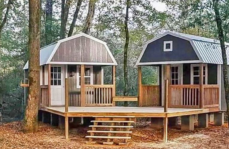 The 'We-Shed' Is a Dual Shed For Him and Her In Anneta