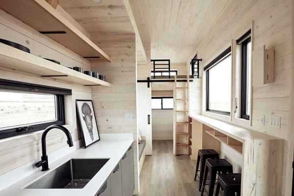 Tiny House Life in Anneta from a Shell Kit
