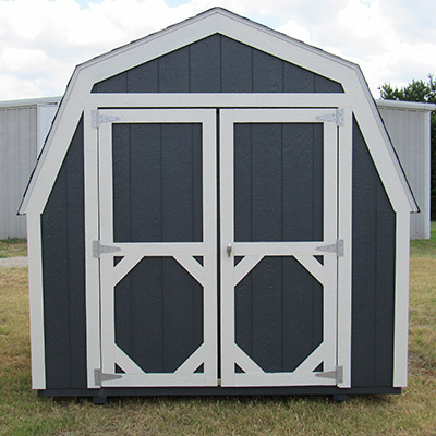 Ranch Barn Style Sheds in Anneta